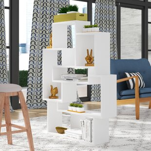 Matthew Modern Geometric Bookcase by Brayden Studio Great Reviews