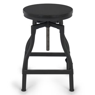 Adjustable Height Swivel Bar Stool by Belleze