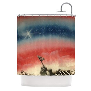 Veteran's Day by Infinite Spray Art Single Shower Curtain
