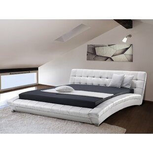 Lille Upholstered Platform Bed By Wade Logan