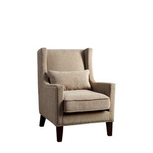 Marlow Wingback Chair by Hokku Designs