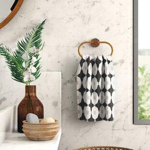 Leia Geometric Hand Towel