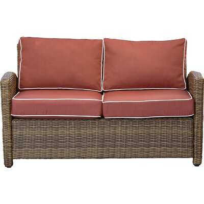 Awesome Lawson Wicker Loveseat With Cushions Birch Lane Heritage Forskolin Free Trial Chair Design Images Forskolin Free Trialorg