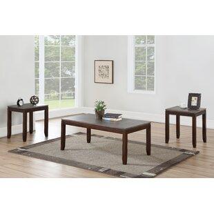 Winston Porter Lapine 3 Piece Coffee Table Set