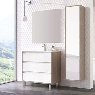 Online Reviews SantaCruz 13 W x 63 H Wall Mounted Cabinet ByOrren Ellis