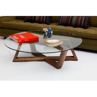 Focal Coffee Table with Tray Top