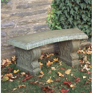 Friel Curved Traditional Bench by Astoria Grand