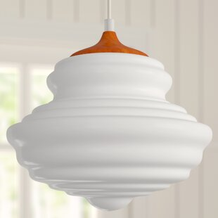 Amiya 1-Light Schoolhouse Pendant