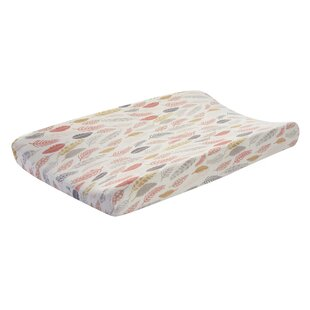 Family Tree Feather Changing Pad Cover by Lambs & Ivy