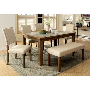 Crafton Modern 6 Piece Dining Set by Alcott Hill