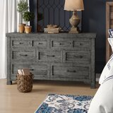 Tandy 7 Drawer Double Dresser by Gracie Oaks
