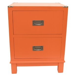 Meleri 2 Drawer Nightstand