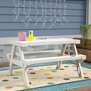 Ruth Kids Rectangular Picnic Table by Viv + Rae