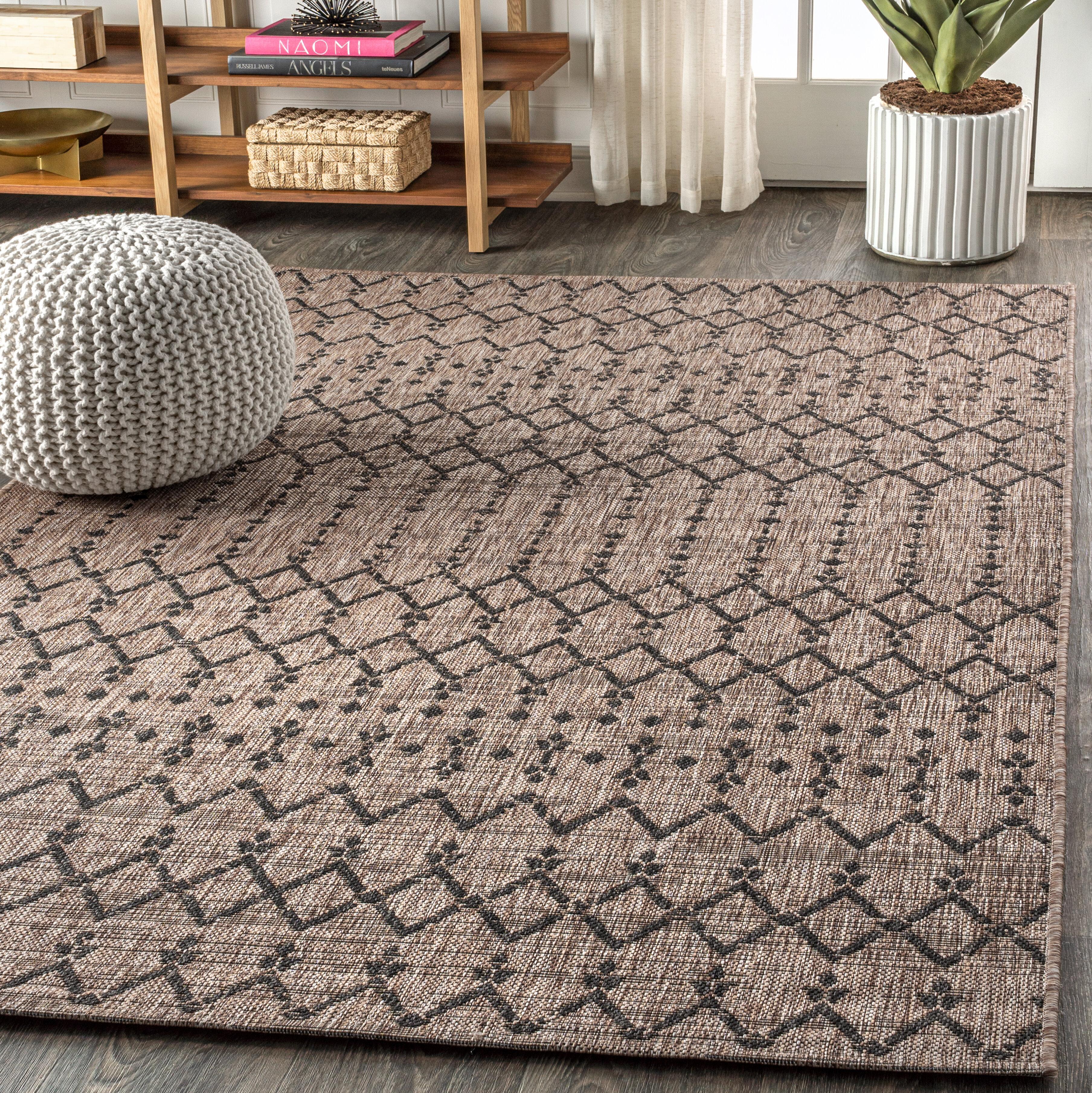Azaiah Moroccan Geometric Textured
