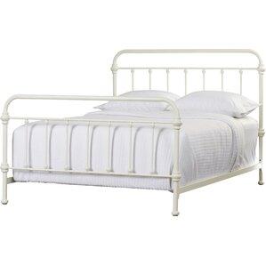 White Metal Bed Frames metal beds you'll love | wayfair
