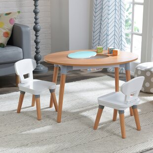 Children's 3 Piece Table And Chair Set By KidKraft