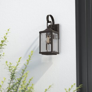 Best Reviews Kinlaw 1-Light Outdoor Wall Lantern By Alcott Hill
