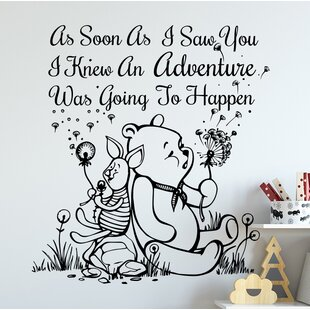 Quote Winnie The Pooh Wall Decal