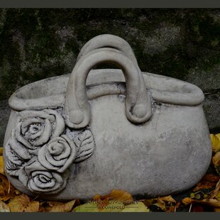 Lewis Handbag Stone Garden Statue Planter By Happy Larry
