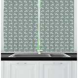 Sage Green Kitchen Curtains | Wayfair