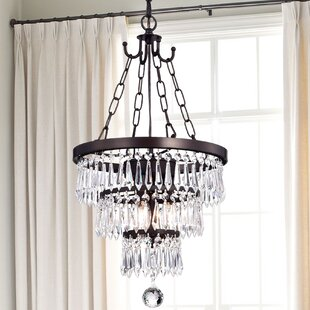 House of Hampton Ottery St Mary 3-Light Crystal Pendant