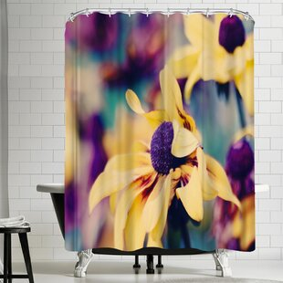 Mellow Yellow Single Shower Curtain