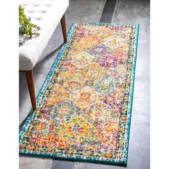 East Urban Home Home Sweet New Haven Poly Chenille Rug Wayfair Ca