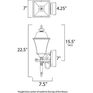 Reviews Mesa Outdoor Wall Lantern By Alcott Hill