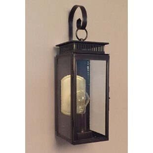 1800 Series 1-Light Outdoor Wall Lantern By Brass Traditions Outdoor Lighting
