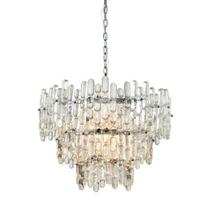 Speer 9-Light Crystal Chandelier by Everl..