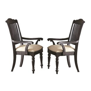 Savings Stegall Upholstered Dining Chair (Set of 2) by Gracie Oaks Reviews (2019) & Buyer's Guide
