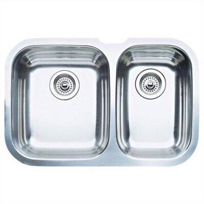 niagara 27 5   x 18 13   bowl undermount kitchen sink blanco niagara 27 5   x 18 13   bowl undermount kitchen sink      rh   wayfair com