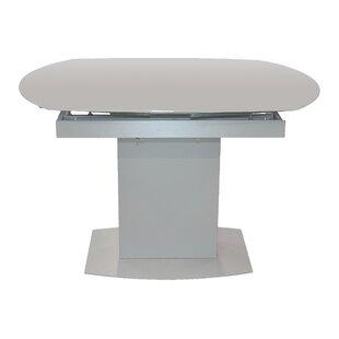 Online Reviews Pekalongan Swirl Extendable Dining Table ByLatitude Run