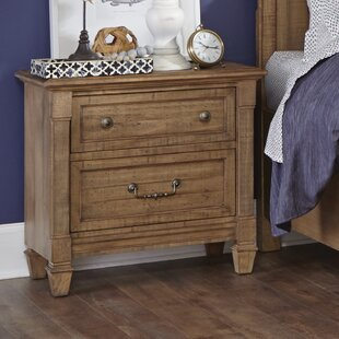 Alcott Hill Hooley 2 Drawer Nightstand