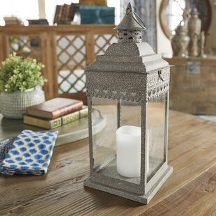 Fischbach Lantern By Bungalow Rose Outdoor Lighting