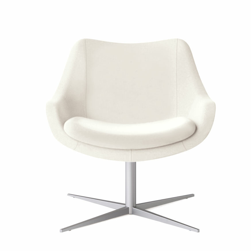 Kimball Bloom Swivel Lounge Chair | Wayfair