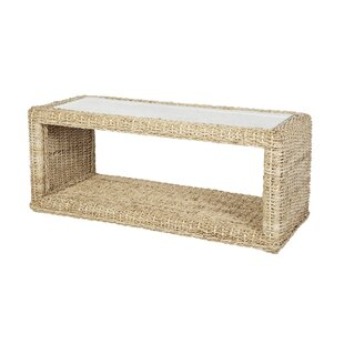 Adalicia Banana Leaf Coffee Table with Storage by Lynton Garden