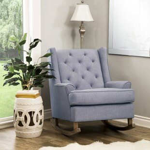 Gracie Oaks Baxendale Rocking Chair