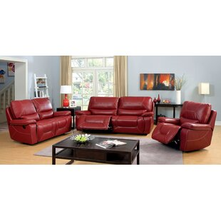 Latitude Run Lockheart Reclining Configurable Living Room Set