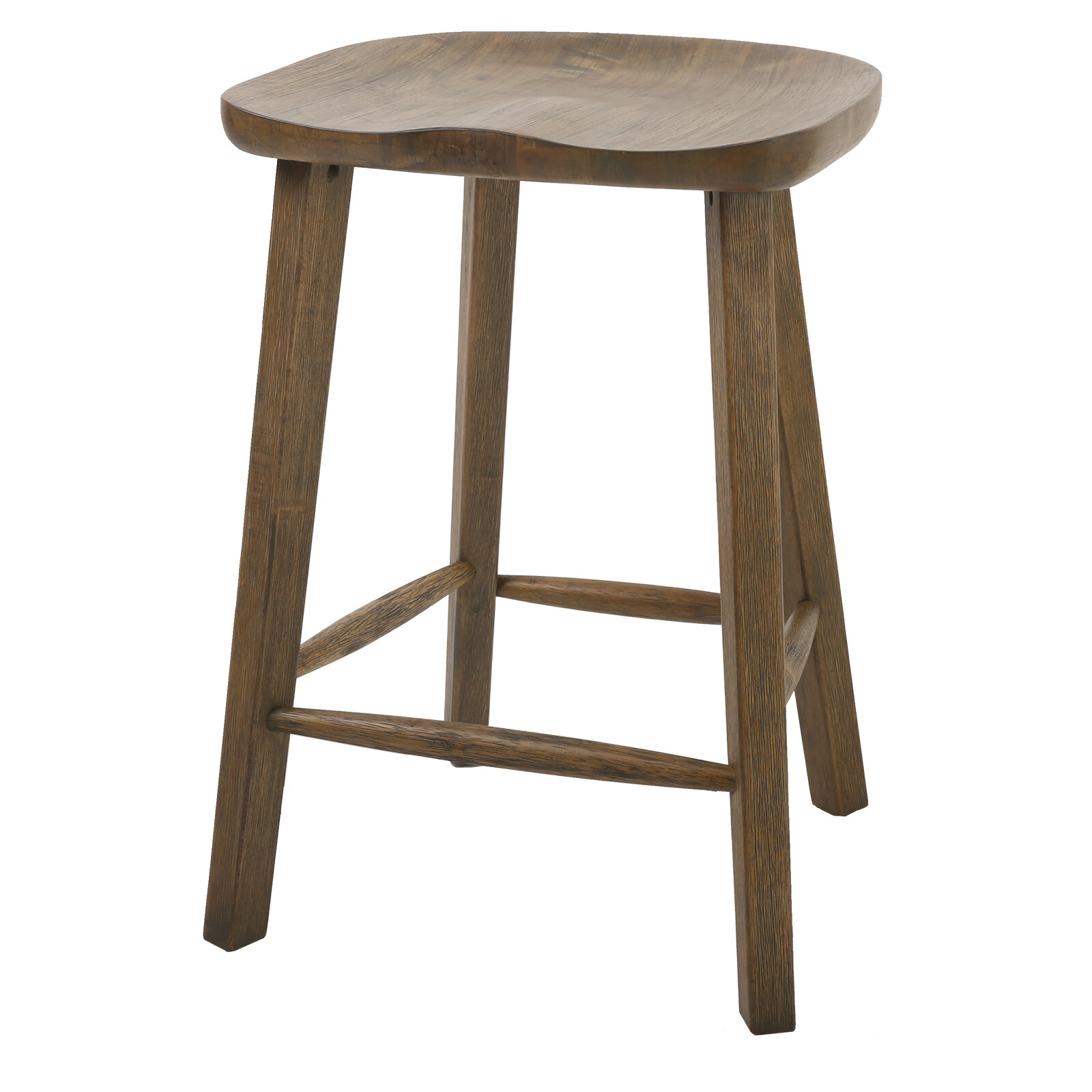 Peachy Penelope Tractor Style Counter Height 25 Bar Stool Pabps2019 Chair Design Images Pabps2019Com