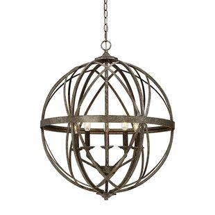 Rodden 5-Light Globe Chandelier by World Menagerie