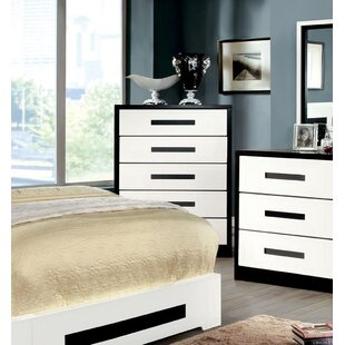 Verzaci 5 Drawer Double Chest by Hokku Designs