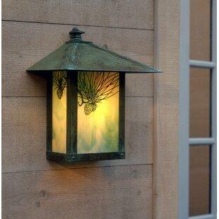 Arroyo Craftsman Evergreen 1-Light Outdoor Wall Lantern