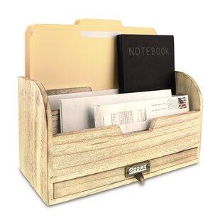 Wood Desktop Shelf Wayfair