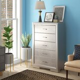 Preas 5 Drawer Chest by Mercer41