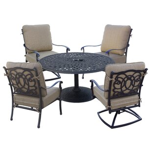 Dolby 5 Piece Conversation Set with Cushions
