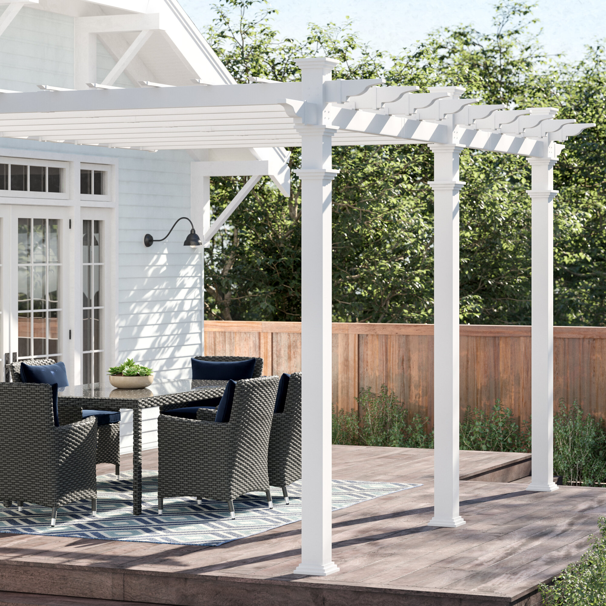 Vinyl Pergolas You Ll Love In 2020 Wayfair