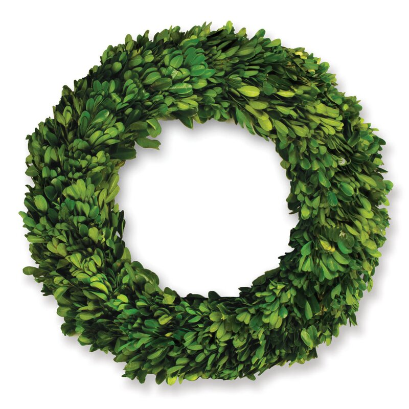 11' Boxwood Leaves Wreath