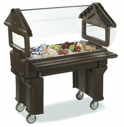 Carlisle Food Service Products Six Star? Bar Cart