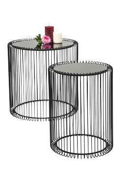 Kare design wire 2 piece nest of tables reviews wayfair wire 2 piece nest of tables greentooth Choice Image
